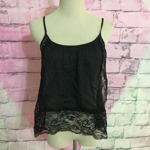 intimately Free People black lacy tank